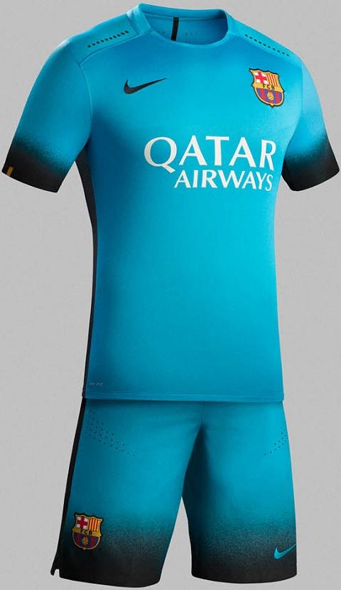 Nike Fc Barcelona Lima Enam Third Jersey