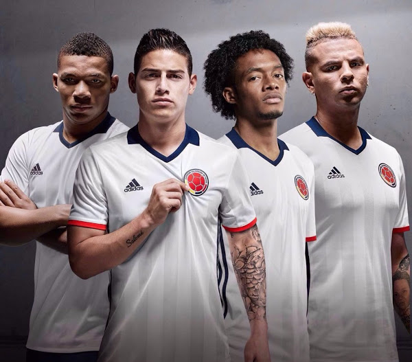 Adidas Launch Stunning New 2016-2017 Colombia Kit