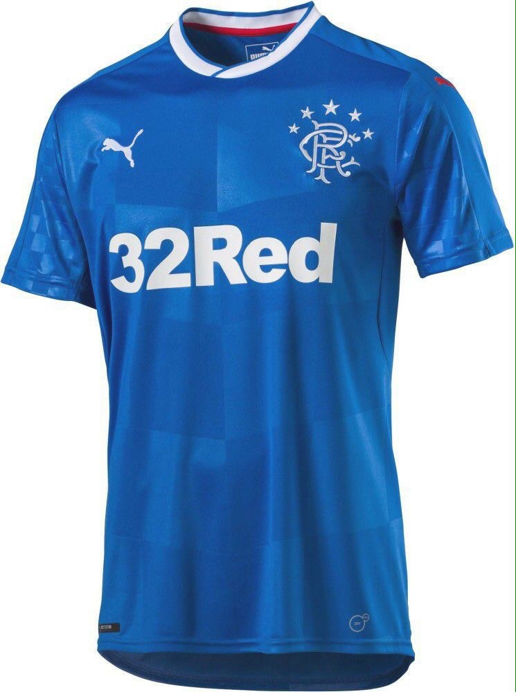 ... is the home shirt Glasgow Rangers will wear for the 2016/17 season