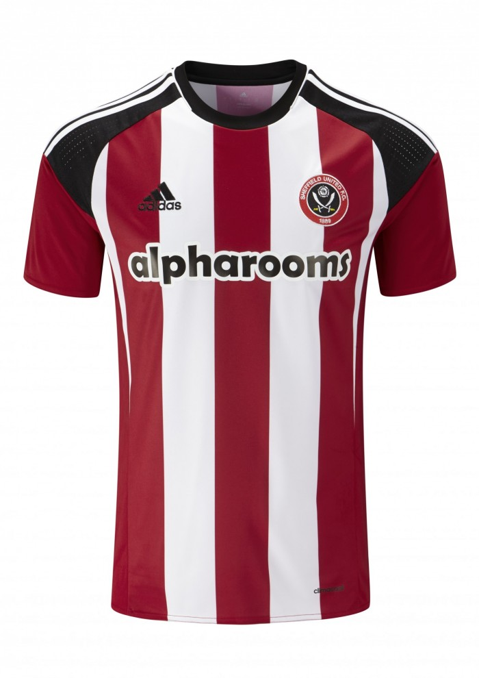 Sheffield United Home Kit 2016-17 shirt