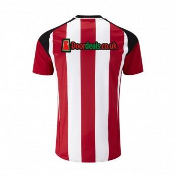 Sheffield United Home Kit 2016-17 shirt reverse