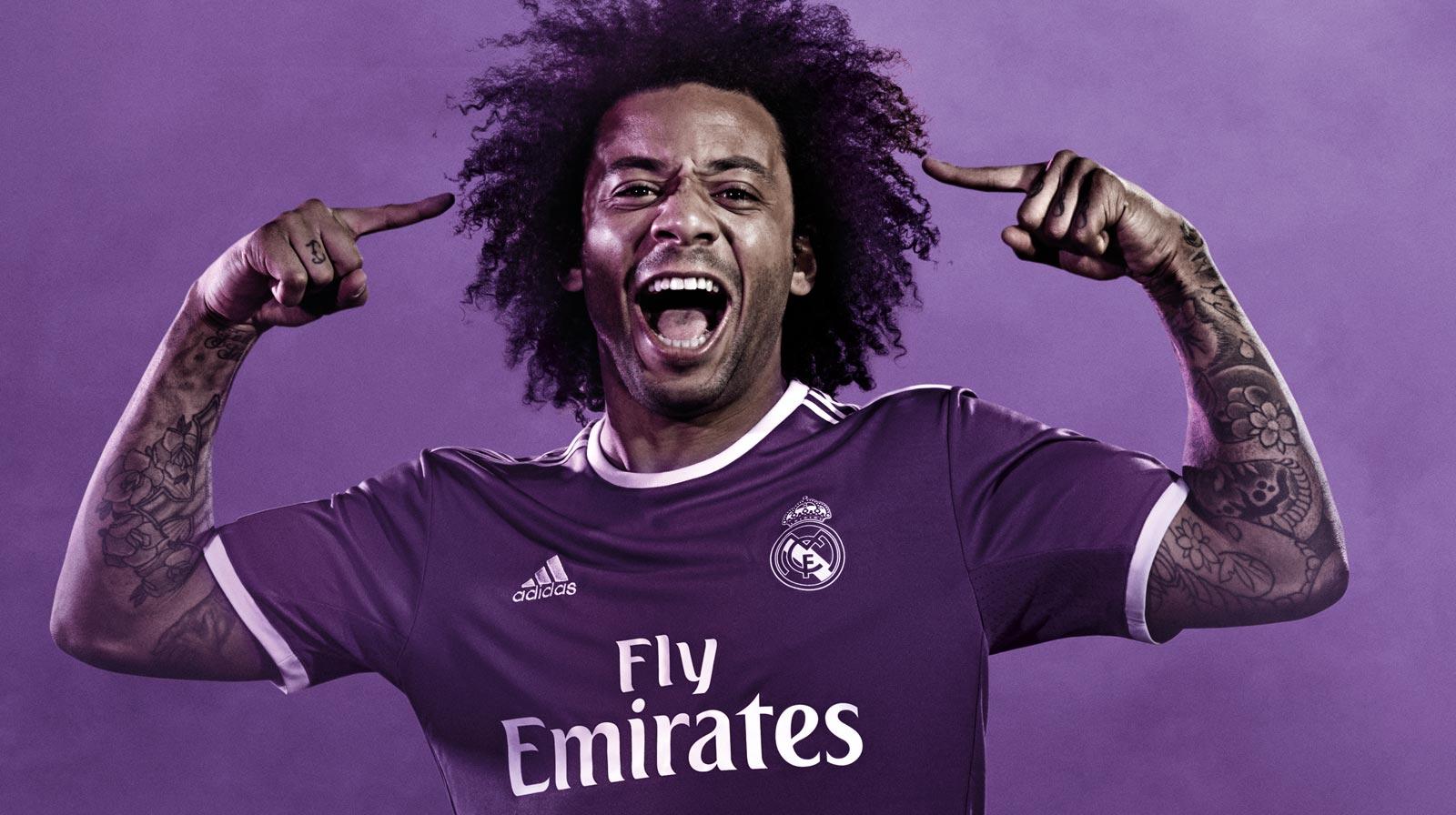 Real Madrid Launch Enam Tujuh Away Kit