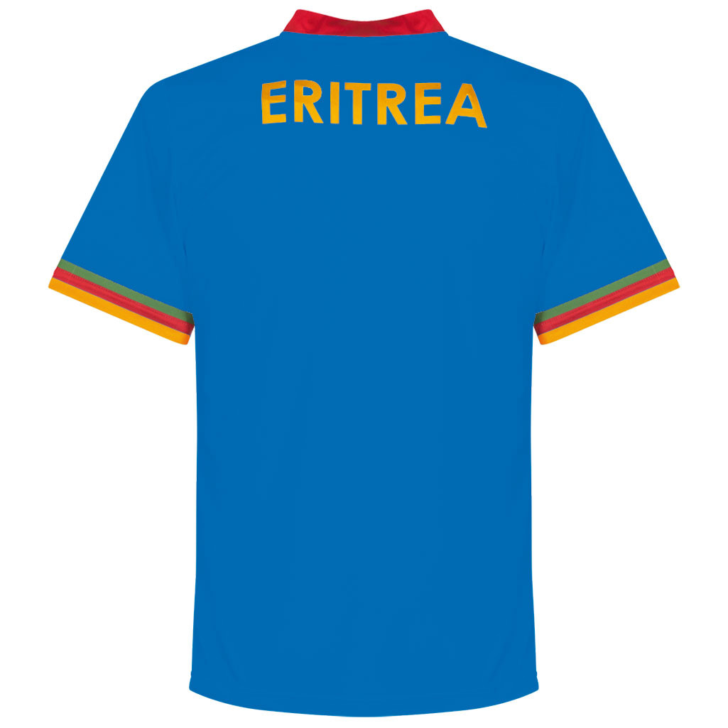 Eritrea 2016 - 17 Away Kit Back