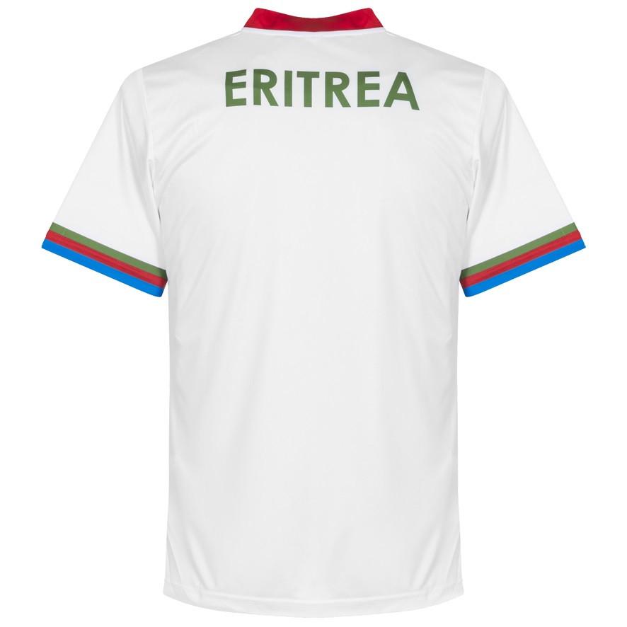 Eritrea 2016 - 17 Home Kit Back