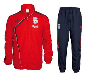 09 10 Liverpool Presentation Suit (Red)