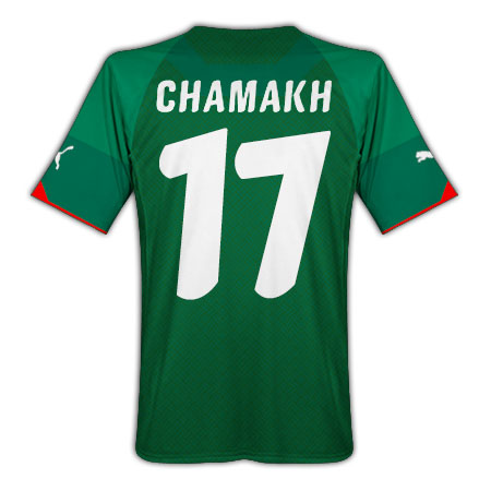 2010-11 Morocco home (Chamakh 17)
