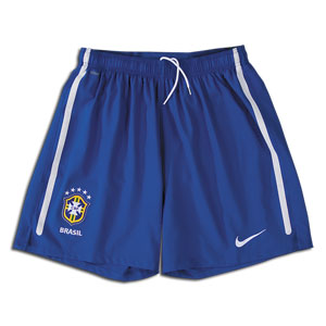 2010-11 Brazil World Cup Nike Home Shorts (Kids)