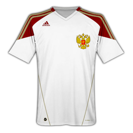 2010-11 Russia Adidas Away Shirt