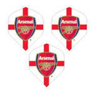 Arsenal FC Club Country Dart Flights