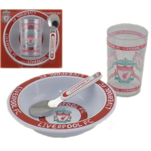 Liverpool FC Breakfast Set