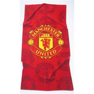 Image Of Manchester United Fc Beach Towel