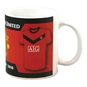 Manchester United FC Home & Away Kit Mug