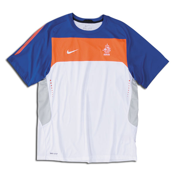2010-11 Holland Nike Elite Training Jersey (White)