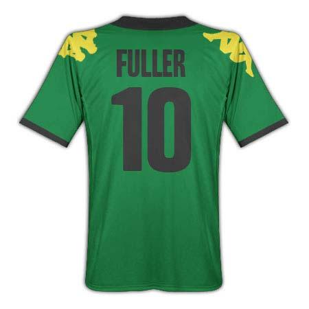 201011 Jamaica Kappa Away Shirt (Fuller 10)