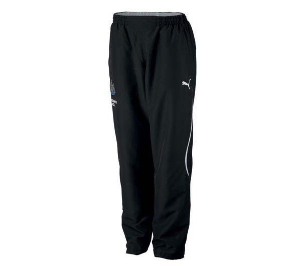2010-11 Newcastle Puma Woven Sweat Pants (Black)