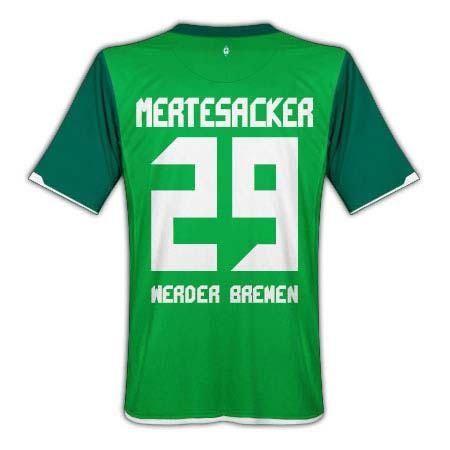 2010-11 Werder Bremen Home Shirt (Mertesacker 29)