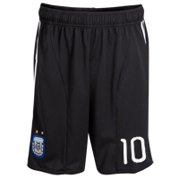 2010-11 Argentina Lionel Messi Home Shorts