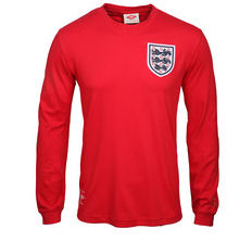 1966 England Long Sleeve Away Football Shirt