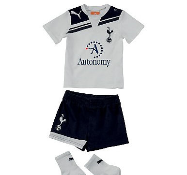 2010-11 Tottenham Home Puma Little Boys Mini Kit