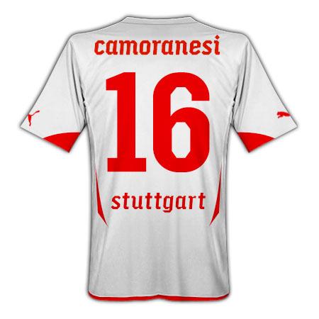 2010-11 VFB Stuttgart Puma Home Shirt (Camoranesi 16)