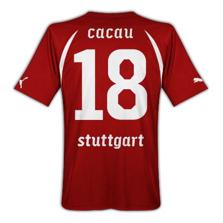 2010-11 VFB Stuttgart Puma Away Shirt (Cacau 18)