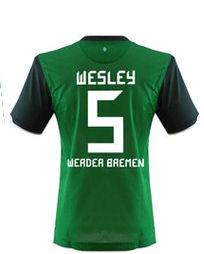 2010-11 Werder Bremen Home Shirt (Wesley 5)