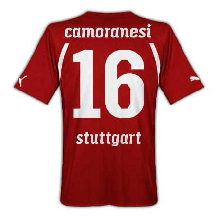 2010-11 VFB Stuttgart Puma Away Shirt (Camoranesi 16)