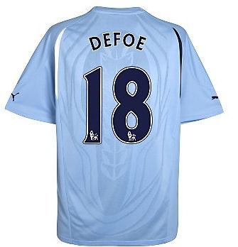 201011 Tottenham Puma Away Shirt (Defoe 18)