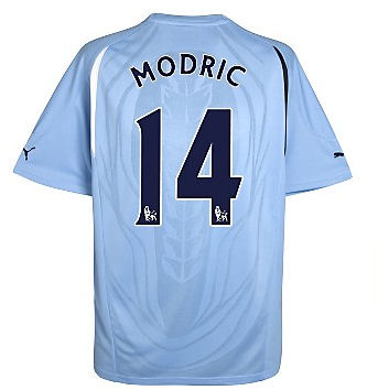 201011 Tottenham Puma Away Shirt (Modric 14)