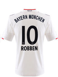 2011-12 Bayern Munich Away Shirt (Robben 10)
