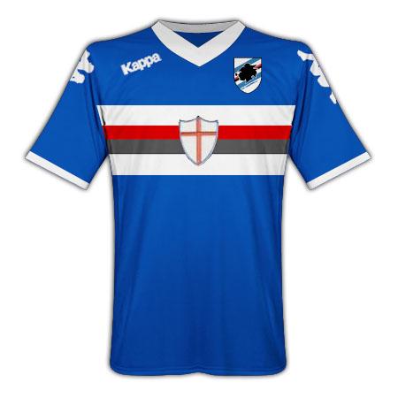 201011 Sampdoria Home Kappa Football Shirt (Kids)