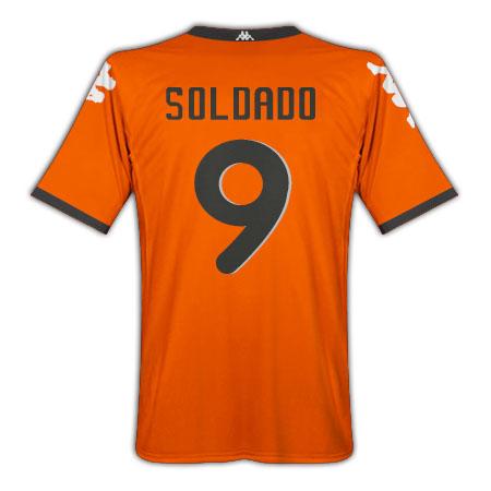 201011 Valencia Kappa Away Shirt (Soldado 9)