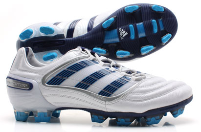 Adidas Predator X FG Champions League Football Boots White/Blue