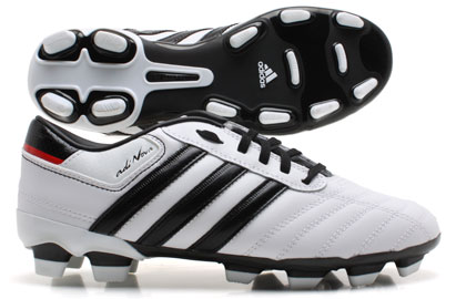 AdiNOVA II TRX FG Football Boots Kids White/Black/Red
