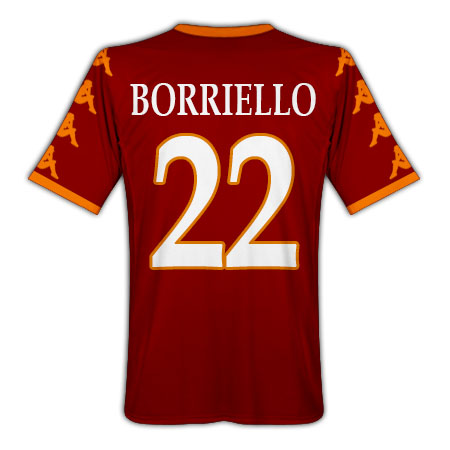 201011 Roma Kappa Home Shirt (Borriello 22)