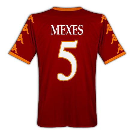 201011 Roma Kappa Home Shirt (Mexes 5)