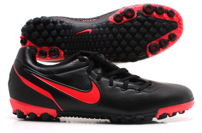 Nike5 Bomba Finale Astro Turf Trainers Black/White/Solar Red