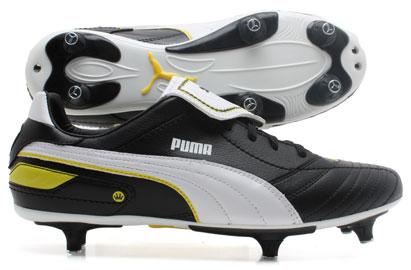 Esito Finale SG Kids Football Boots Black/White/Yellow