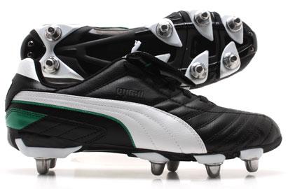 Esito Finale H8 SG Football Boots Black / White / Green