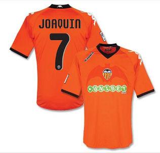 201011 Valencia Kappa Away Shirt (Joaquin 7)