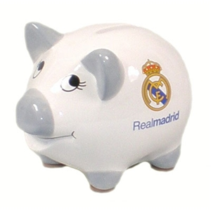 Real Madrid FC Piggy Bank