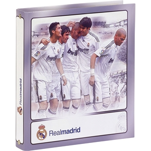 Real Madrid FC A5 Cardboard Ring Binder (Pack Of Two)