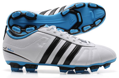 AdiNova IV TRX FG Football Boot White/Black/Fresh Splash