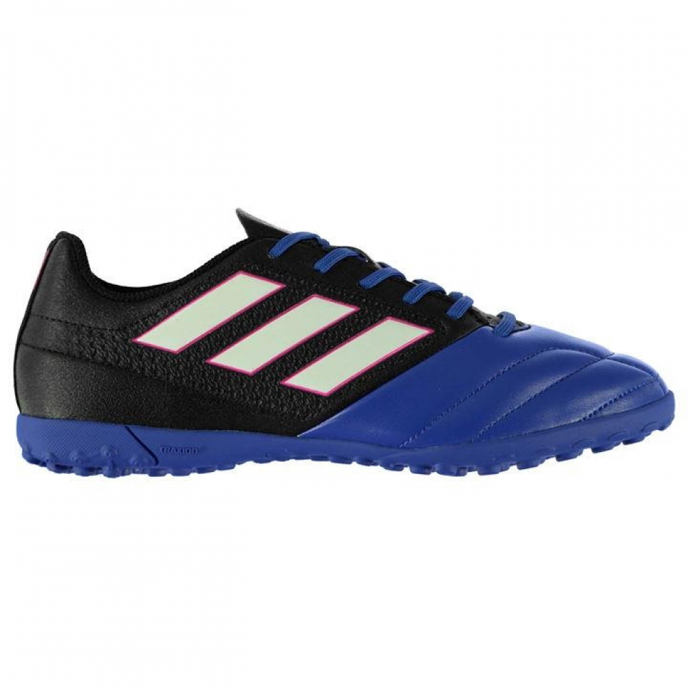 Adidas Ace 17.4 Mens Astro Turf Trainers (BlackBlue)
