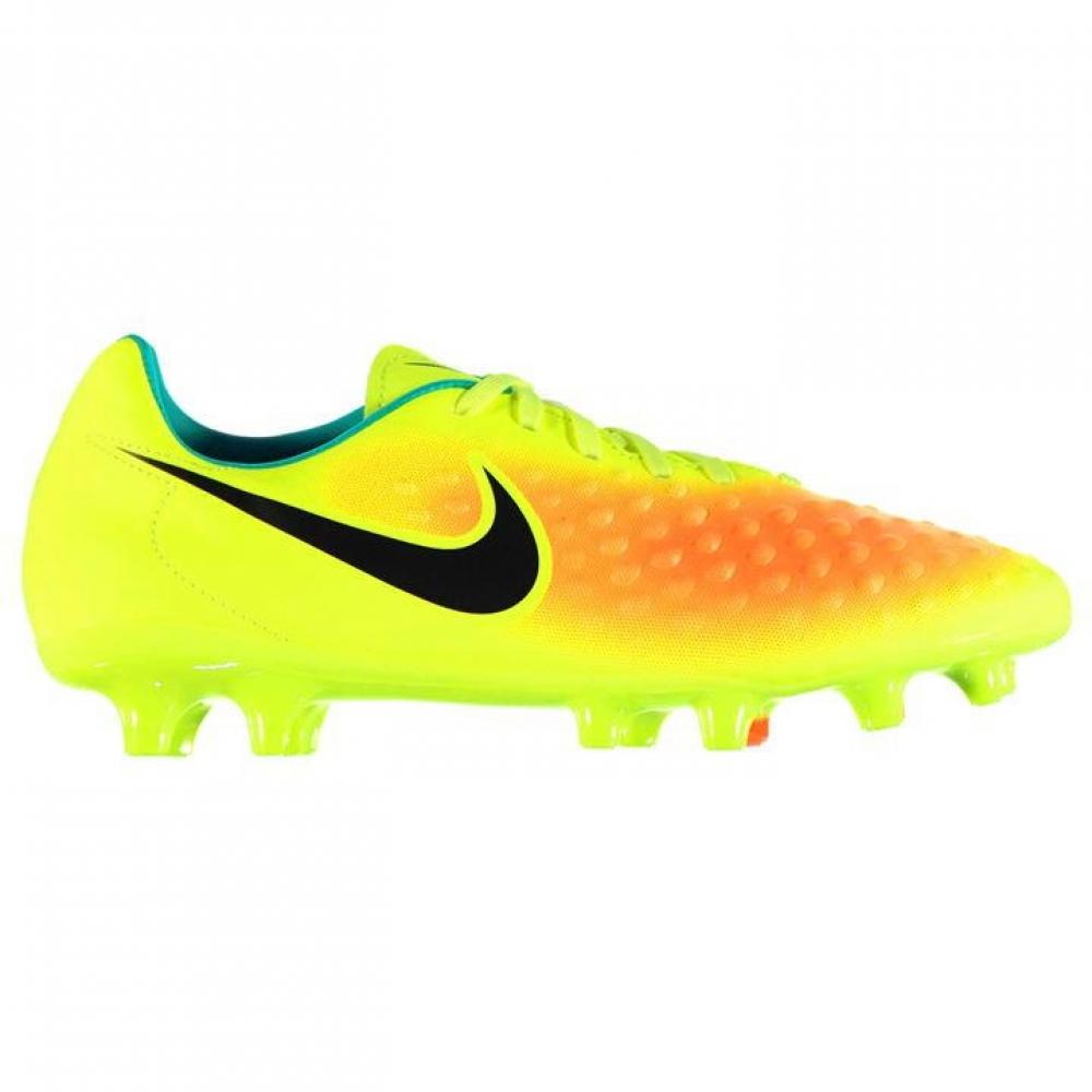 Nike Magista Onda FG Mens Football Boots (Volt-Orange)