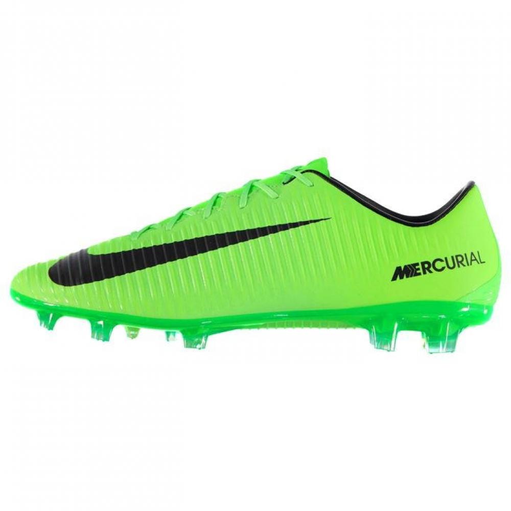 Nike Mercurial Veloce FG Football Boots (GreenBlack)