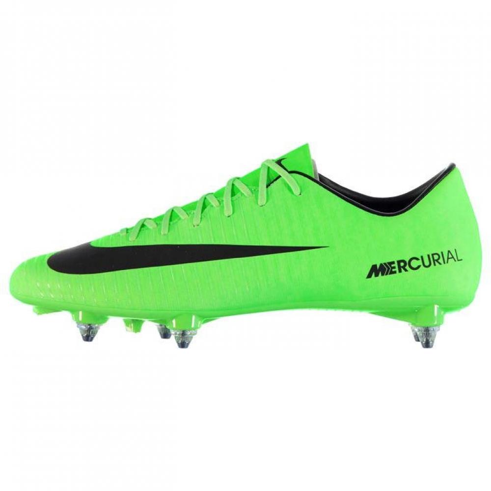 Nike Mercurial Victory SG Football Boots (GreenBlack)