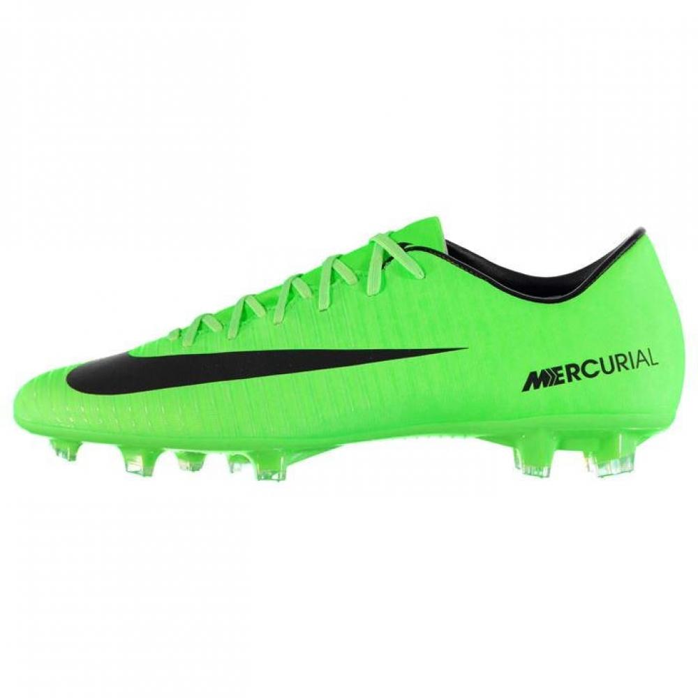 Nike Mercurial Victory FG Football Boots (GreenBlack)
