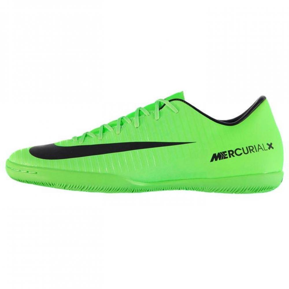 Nike Mercurial Victory Mens Indoor Court Trainers (GreenBlack)