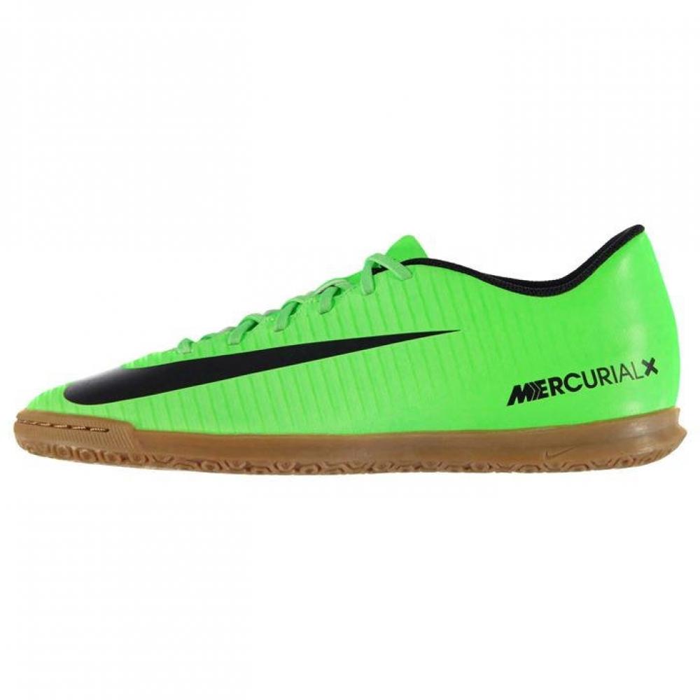 Nike Mercurial Vortex Mens Indoor Court Trainers (GreenBlack)
